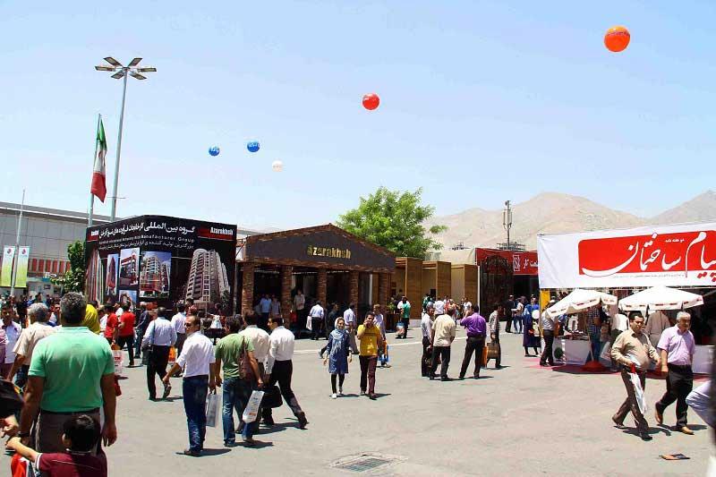 برترین تولید کننده کشور اسپانسر اصلی سیزدهمین نمایشگاه صنعت ساختمان تهران