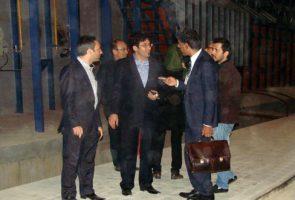 بازدید آقای Vanni trantini یکی از مدیران شرکت ساکمی ایتالیا از واحد شماره 2 و 3 گروه بین المللی کارخانجات آجر نسوز نما آذرخش