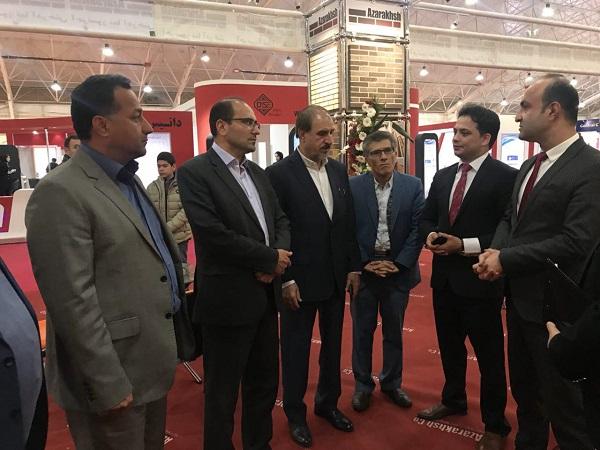 احترام به فرهنگ و اصالت ایرانی، ارمغان آذرخش در نمایشگاه صنعت ساختمان شیراز