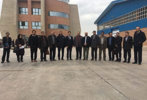 بازدید مدیران و مسئولان ارشد کشوری و استانی از کارخانجات گروه بین المللی آجرنسوز نما آذرخش