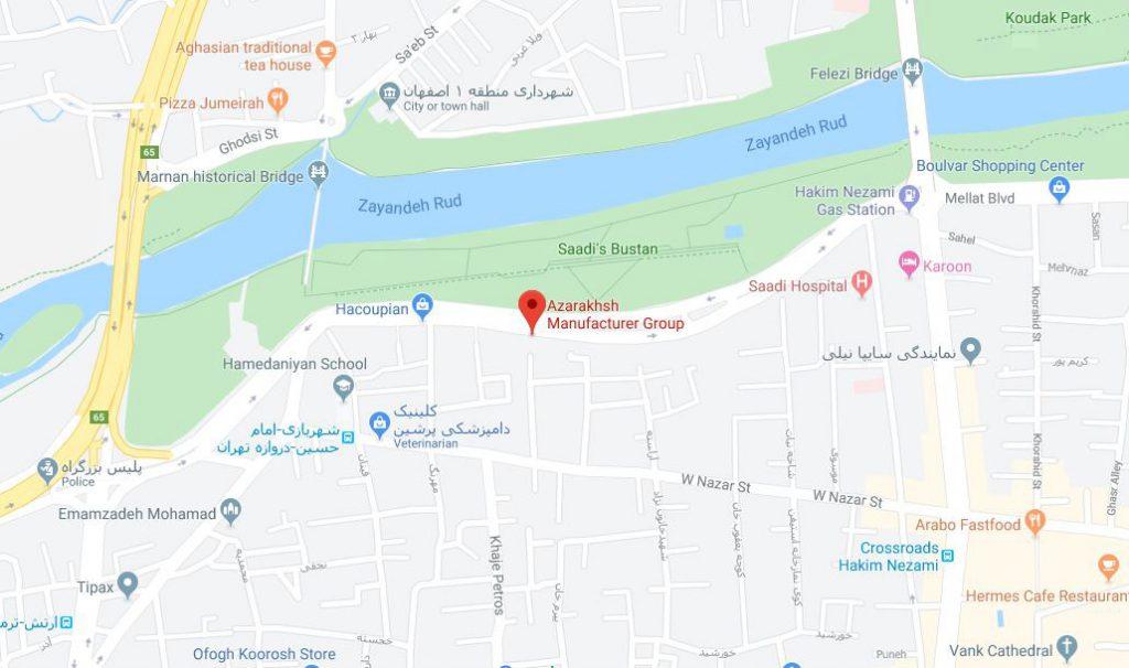 اطلاعیه تغییر آدرس دفتر فروش اصفهان