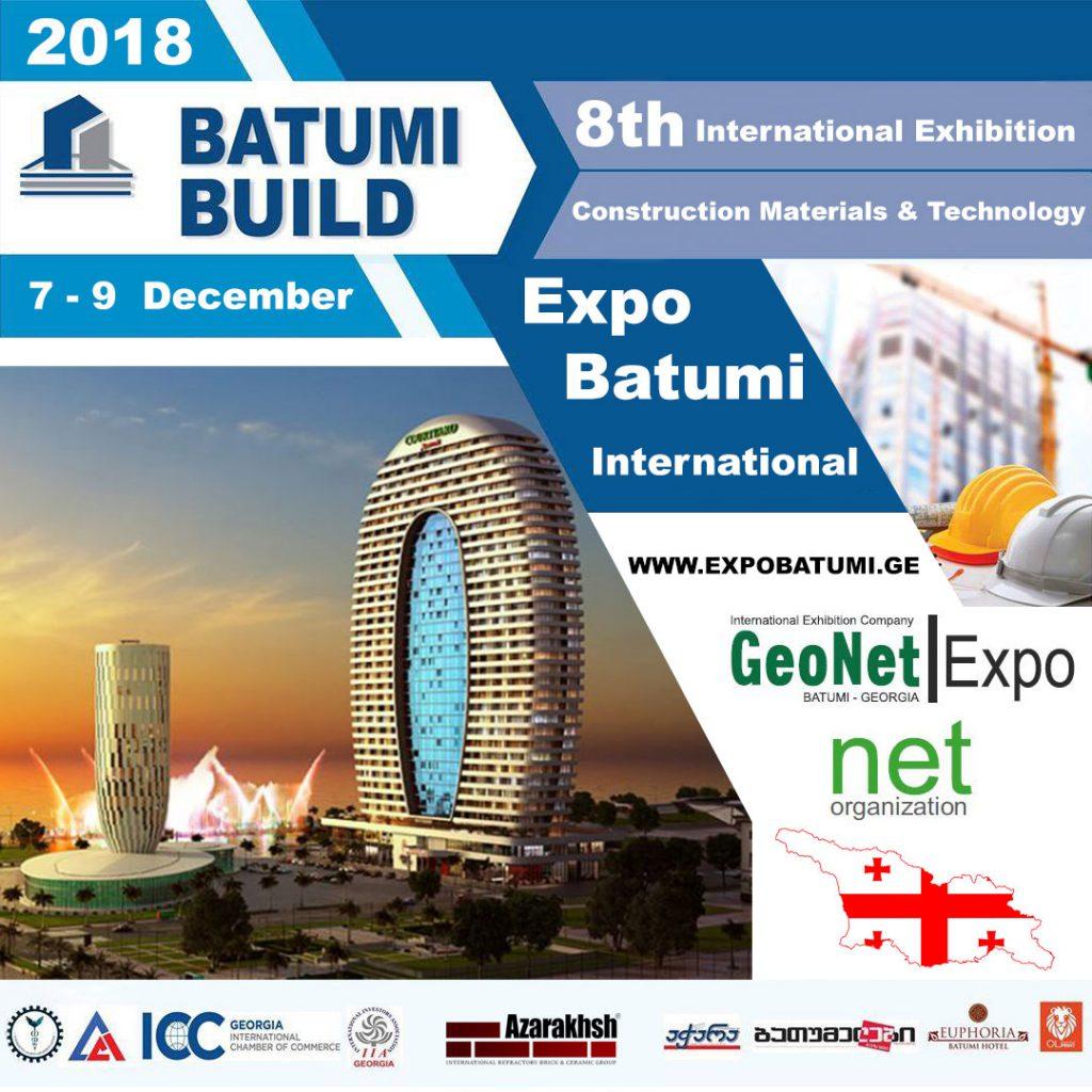 هشتمین نمایشگاه بین المللی صنعت ساختمان باتومی گرجستان