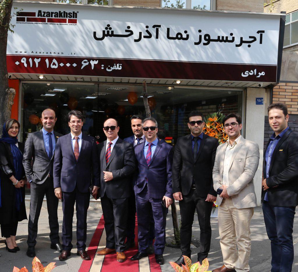 افتتاح نمایندگی فروش گروه بین المللی آذرخش اتوبان شهید باقری