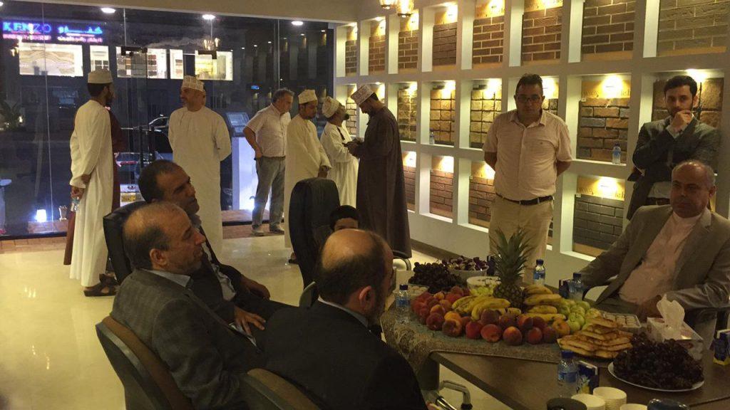 نمایندگی فروش گروه بین المللی آجر نسوز نما آذرخش در کشور عمان با حضور سفیر ایران افتتاح شد