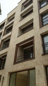 پروژه آجرنما ساختمان اصفهان