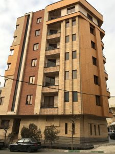 پروژه آجرنما ساختمان یوسف آباد - تهران