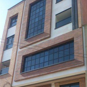 پروژه آجرنما مجتمع نیکان - اصفهان
