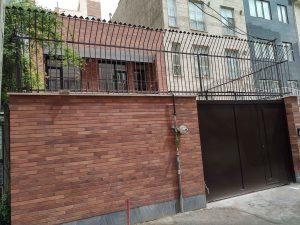 پروژه اجرای آجرنسوز ساختمان مسکونی آزادی - تهران