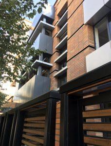 پروژه آجرنما مجتمع مسکونی وزرا - تهران