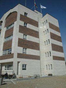پروژه نما آجری ساختمان بنیاد شهید تهران
