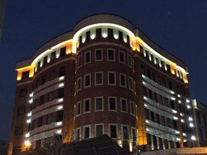پروژه اجرای آجرنسوزنما ساختمان شمس آباد - تهران