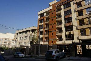 پروژه اجرای آجرنسوز نما ساختمان گیشا