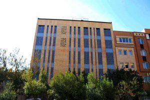 پروژه اجرا آجرنسوز نما ساختمان پزشکی - اصفهان