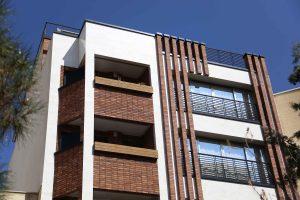 پروژه اجرای آجر رستیک نما ساختمان - اصفهان