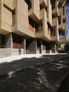 پروژه آجرنسوز نما مجتمع مسکونی خواب آرام - اصفهان