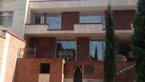 پروژه اجرای محوطه سازی و نما آجرنسوز - تهران