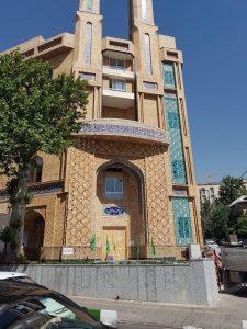 پروژه اجرای نما آجری ساختمان مسجد امیرالمومنین - تهران