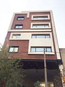 پروژه آجرنما ساختمان مسکونی - شریعتی