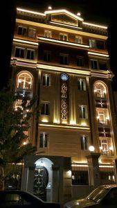 پروژه اجرای آجرنسوز نمای ساختمان آنانور - تهران