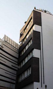 پروژه نما آجری ساختمان مسکونی - مینی سیتی