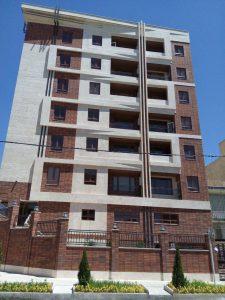 پروژه اجرای نما ساختمان آجرنسوز - تهرانپارس