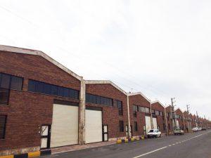 پروژه اجرای آجرنسوز شهرک صنعتی خدماتی كاوه - پاكدشت