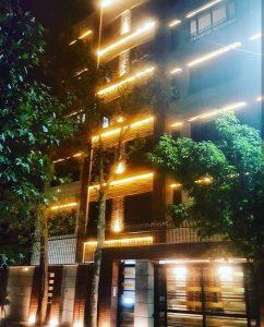 پروژه اجرای نما ساختمان آجری شهرک بنفشه - کرج