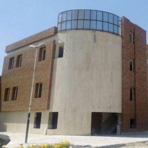 پروژه اجرای آجرنما ساختمان شورای شهر - پاکدشت