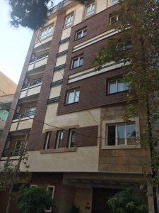 پروژه اجرا نما ساختمان آجرنسوز - تهران یوسف آباد
