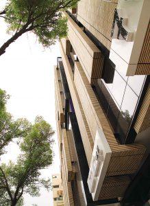پروژه آجرنما ساختمان مجتمع تجاری، اداری پدیده - اصفهان