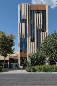 پروژه آجرنما مجتمع اداری جی - اصفهان