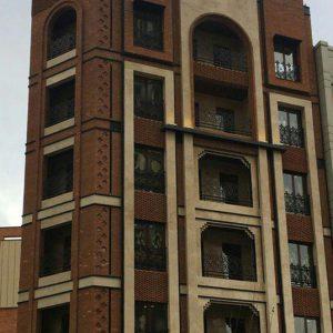 پروژه آجرنما ساختمان مسکونی - اندرزگو قیطریه