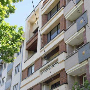 پروژه اجرا نمای آجری ساختمان مسکونی - شرق تهران