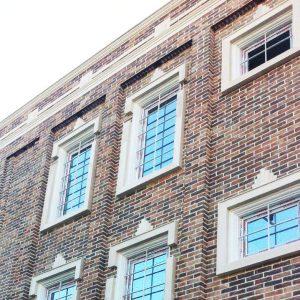 پروژه اجرای نما ساختمان آجری درمانگاه - ایلام