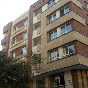 پروژه نما آجری ساختمان مسکونی - ستارخان
