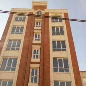 پروژه آجرنما ساختمان - قیطریه