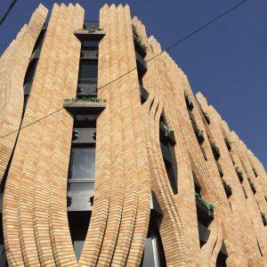 پروژه اجرا آجر نما ساختمان شرکت بهتاش سپاهان - اصفهان