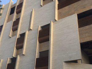 پروژه اجرا آجرنمانسوز ساختمان مسکونی - اصفهان