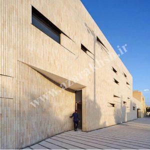پروژه نما آجری ساختمان یست خانه - یزد