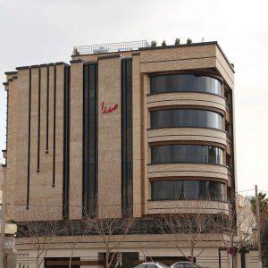 پروژه اجرای آجرنما مجتمع مسکونی صدرا - اصفهان