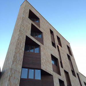 پروژه آجرنما خانه مثلثی - اصفهان