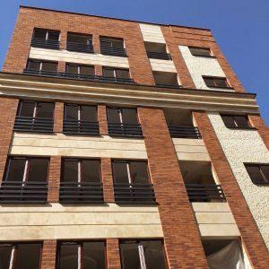 پروژه ساختمان مسکونی آجرنما شیخ بهایی - تهران