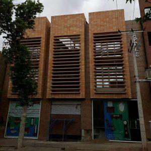 پروژه اجرای نما ساختمان آجرنسوز - سبزوار