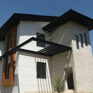 پروژه آجرنما ساختمان آبسرد تهران