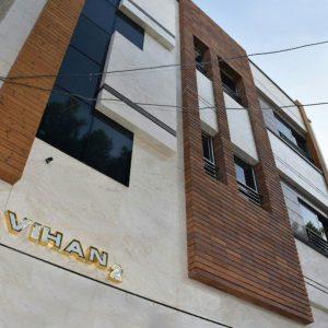 پروژه اجرای آجرنسوز نما ساختمان مسکونی - اصفهان