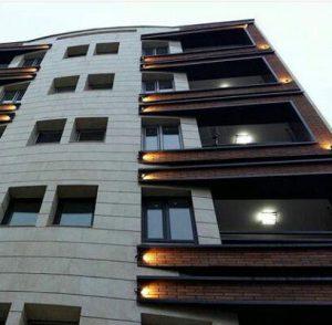 پروژه اجرای نمای ساختمان آجرنسوز - تهران