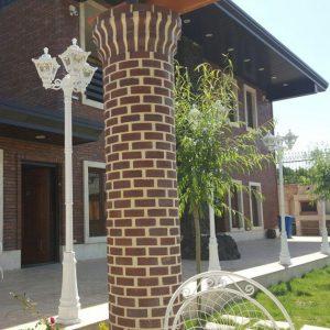 پروژه اجرای نما و محوطه سازی ویلا - کردان
