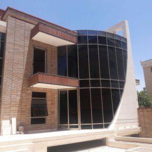 پروژه اجرای نما آجری ساختمان - اصفهان