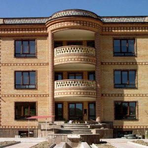 پروژه اجرای آجرنما ساختمان - لواسان