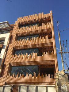 پروژه نمای ساختمان مسکونی بوستان – اصفهان
